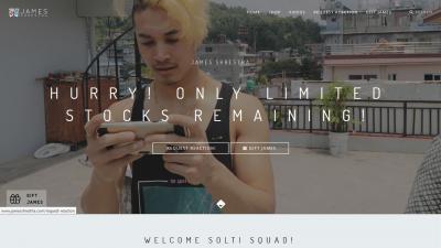 James Shrestha Web Design